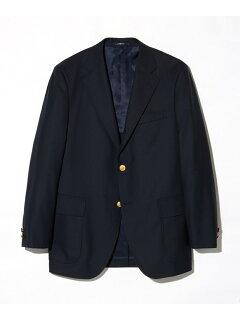 J. Press Tropical Wool Sack Blazer BZOVYM0001: Navy