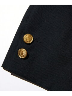 J. Press Tropical Wool Sack Blazer BZOVYM0001: Navy