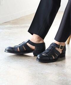Buckle Sandals 51-32-0131-232: Black