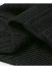 Freemans Sporting Club x Brown's Beach Varsity Jacket UF86-17Y023: Solid Black