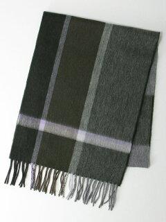 Lambswool Angora Scarf 3236-499-0968: Olive