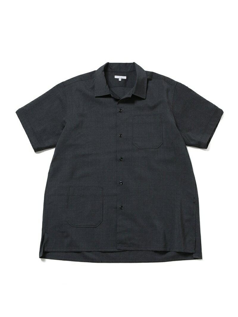 トップス, カジュアルシャツ ADAM ET ROPE ENGINEEREDGARMENTSEXTropical WoolCampShirt