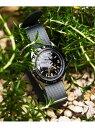 ブラック曲がった端時計ベルト 22mmDバックル尾錠交換ベルト テーパー腕時計 ストラップ watch band 簡単交換ベルト Watch Strap ス