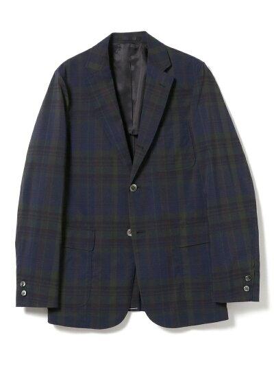 Beams Plus Dark Madras Sack Sport Coat 11-16-1743-887