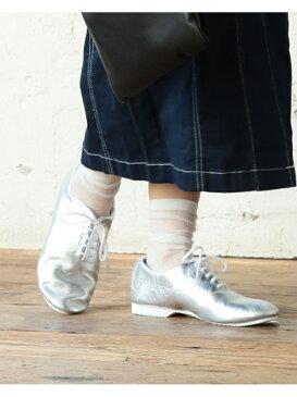 Ray BEAMS CROWN / Jazz 5eye シューズ beams raybeams ビームス レイビームス 靴 ドレスシューズ フラットシューズ 革 シルバー きれいめ イギリス ブリ【送料無料】