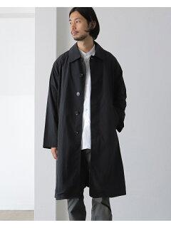 Wavy Raglan Coat 51-19-0268-012: Black