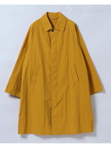 Wavy Raglan Coat 51-19-0268-012: Mustard