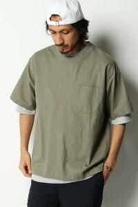 【SALE/50%OFF】ikka コットンプルオーバーシャツT イッカ シャツ/ブラウス シャツ/ブラウスその他 グリーン ブラック ブルー ブラウン ピンク
