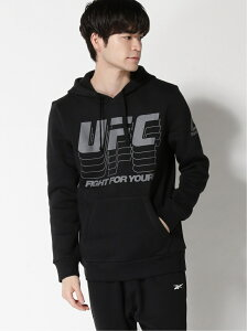 【SALE/50%OFF】Reebok (M)UFC FG PULLOVER HOODIE リーボック カットソー パーカー ブラック