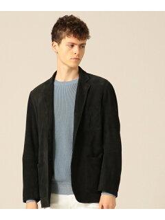 Goat Suede Packable Jacket JKOVBM0101: Black