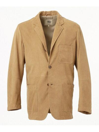 Goat Suede Packable Jacket JKOVBM0101: Beige