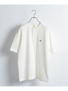 Urban Research x Scye Basics Henley T-Shirt 5120-21495: White