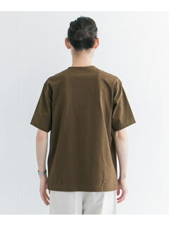 Urban Research x Scye Basics Henley T-Shirt 5120-21495: Brown