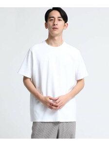【SALE/70%OFF】tk.TAKEO KIKUCHI サマーニットクルーネック(半袖) ティーケータケオキクチ ニット ニットその他 ホワイト イエロー パープル ネイビー