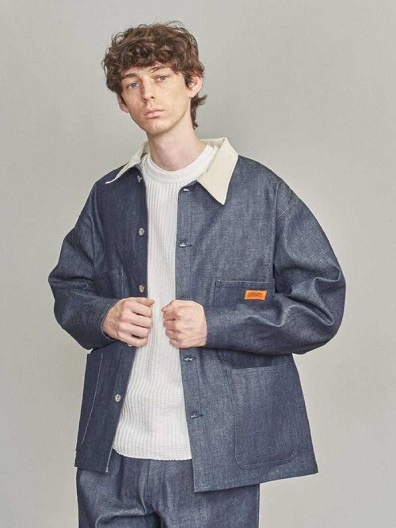 メンズファッション, コート・ジャケット SALE40OFFBEAUTY YOUTH UNITED ARROWS UNIVERSALOVERALLDENIMCOVERAL L