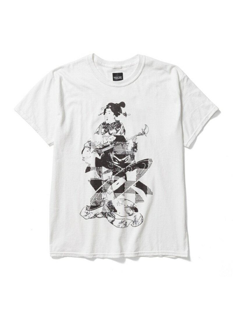 トップス, Tシャツ・カットソー BE AT TOKYO NINJA TUNE Sasquatchfabrix. T-SHIRTS NINJABUSHI T