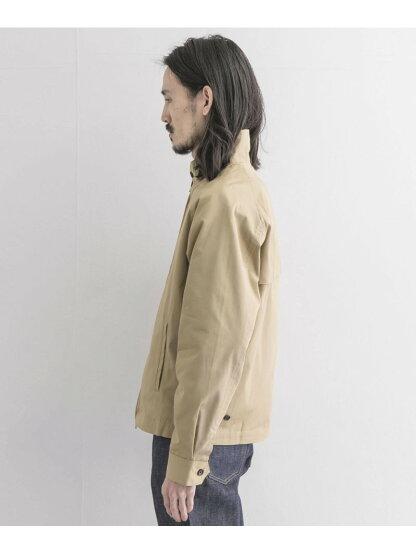 Chino Cloth Harrington Jacket UR04-17A002: Beige