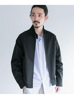 Chino Cloth Harrington Jacket UR04-17A002: Black