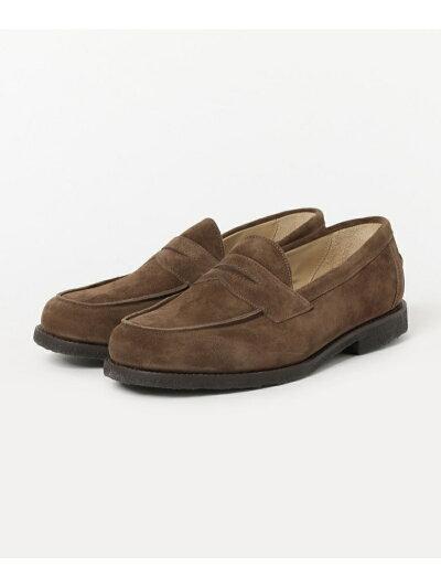 Saddle Loafer 1687: Snuff Suede