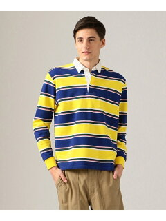 J. Press Stripe Rugby Shirt KKOVKM0024: Yellow