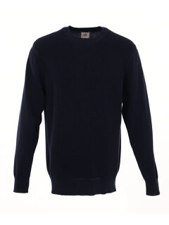 J. Press Houston Gass Crewneck Sweater KROVKM0200: Navy