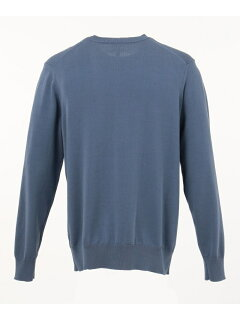 J. Press Houston Gass Crewneck Sweater KROVKM0200: Blue