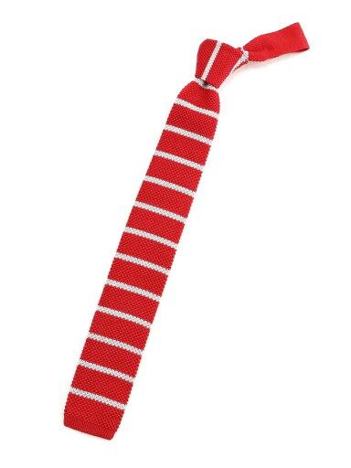 Silk Cotton Knit Tie NY01928