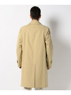 J. Press x Blue Blue Poplin Balmacaan Coat CCOVYM0761: Beige