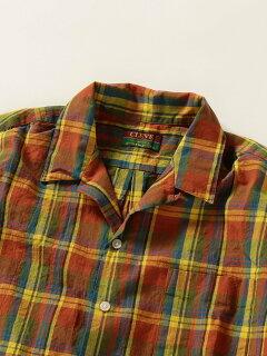 Cleve Cotton Linen Short Sleeve Camp Shirt 711-57-0004