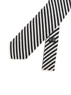 Silk Cotton Knit Tie NY01930