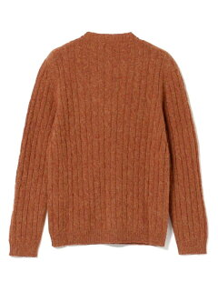 Bellwood Cable Crewneck Sweater 51-15-0451-012: Brick