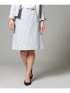 【SALE/70%OFF】UNTITLED タイトツイードスカート アンタイトル スカート【RBA_S】【RBA_E】【送料無料】