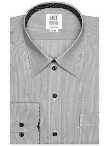 【SALE/39%OFF】TOKYO SHIRTS (M)形態安定ノーアイロン レギュラー 長袖ビジネスワイシャツ トーキョーシャツ シャツ/ブラウス 長袖シャツ グレー