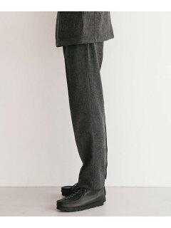 Single Pleated Pants C3-2-UF97: Charcoal