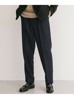 Single Pleated Pants C3-2-UF97: Navy