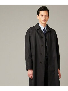 J. Press Ventile Gabardine Balmacaan Coat CCOVYW0001: Navy