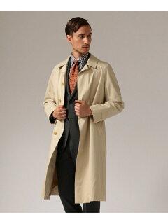 J. Press Ventile Gabardine Balmacaan Coat CCOVYW0001: Ivory