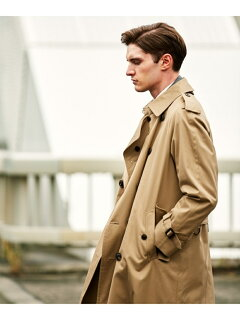 J. Press Ventile Gabardine Trench Coat CCOVYW0002: Beige