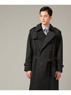 J. Press Ventile Gabardine Trench Coat CCOVYW0002: Navy