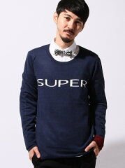 【14a_kn_m】【送料無料】SUPERTHANKS メンズ ニット スーパーサンクス 【ST_新作】SUPERTHANKS...