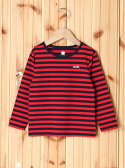 【SALE/35%OFF】X-girl Stages STRIPED L/S TEE(4T~7T) エックスガールステージス カットソー【RBA_S】【RBA_E】