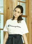 earth music&ecology Violet Label Champion×earthビッグTシャツ アースミュージック&エコロジー カットソー【送料無料】