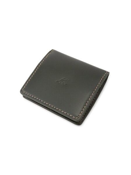 Kitamura(M)小銭入れZH0129キタムラ財布/小物財布カーキネイビーブラウンブラック