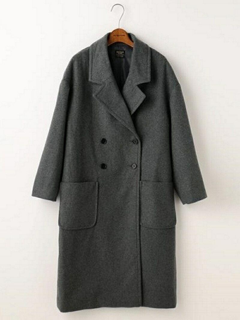 Stylife | Rakuten Global Market: DOUBLE NAME wool mossa W button