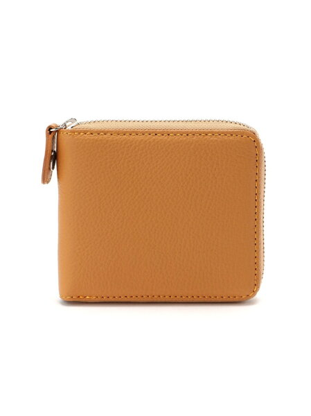 Kitamura(M)二折財布YH0083キタムラ財布/小物財布ブラウングリーンブラックレッドブルー