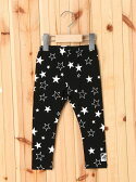 【SALE/35%OFF】X-girl Stages LEGGINGS STAR PRINT(12M,2T) エックスガールステージス パンツ/ジーンズ【RBA_S】【RBA_E】【送料無料】