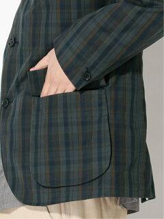 Check Sport Coat 11-16-1585-063: Green