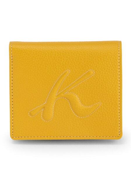 KitamuraK2KitamuraK2/キタムラK2/(W)牛革ボックス型二つ折り財布U-39キタムラケイツウ財布/小物財布イ