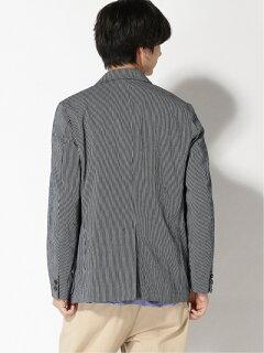Stripe Sport Coat 11-16-1586-063: Navy / White