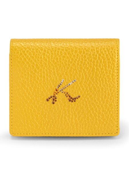 KitamuraK2KitamuraK2/キタムラK2/(W)牛革ボックス型二つ折り財布U-72キタムラケイツウ財布/小物財布イ